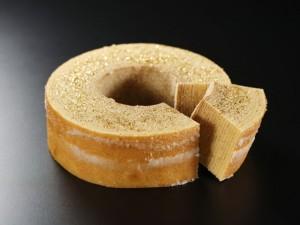 大麦の出来た健康的なバウムクーヘン