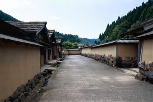 福井市、一乗谷の朝倉氏遺跡