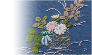 刺繍の伝統工芸、加賀繍い